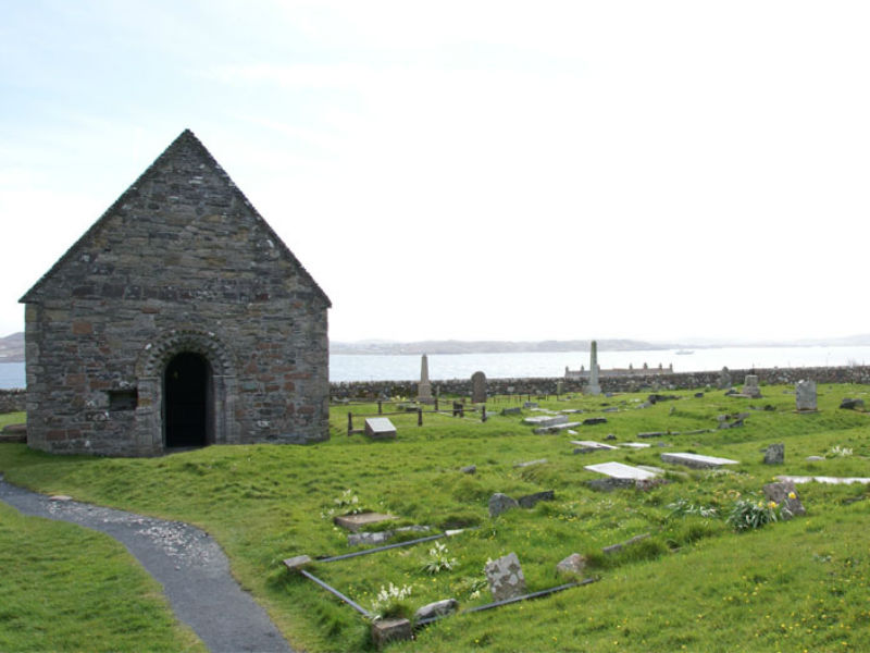 relig odran, isle of iona cemetery