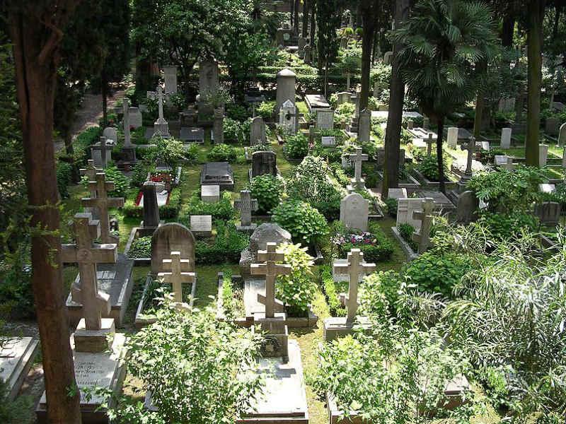 il cimitero acattolico di roma