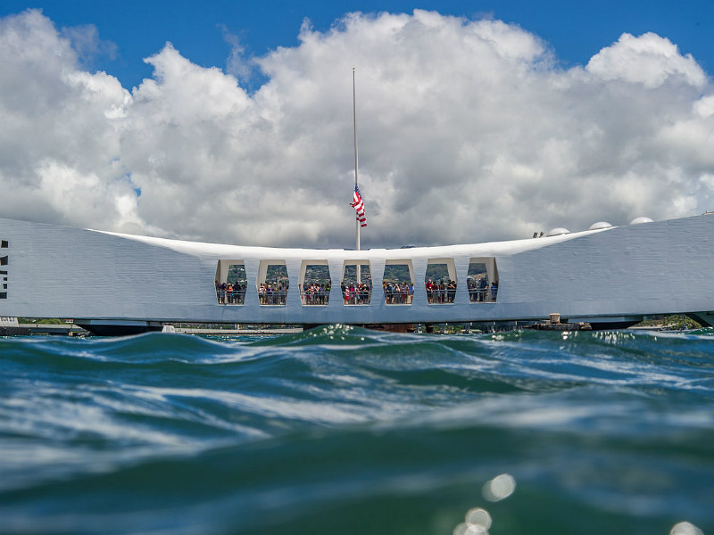 uss arizona memorial, pearl harbour