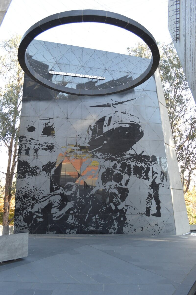 Interior of Australian Vietnam Forces National Memorial