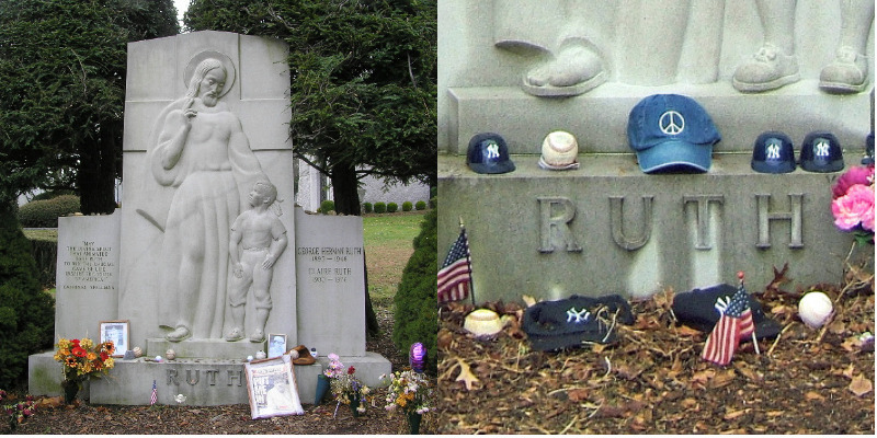 Grave of Babe Ruth