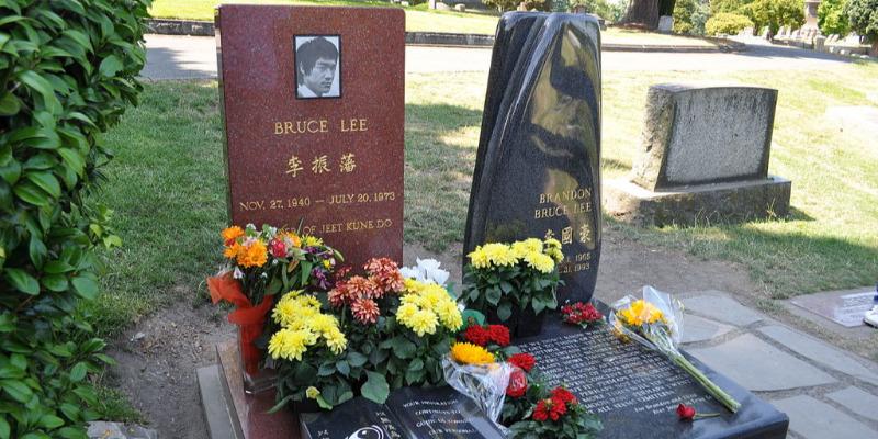 Grave of Bruce Lee