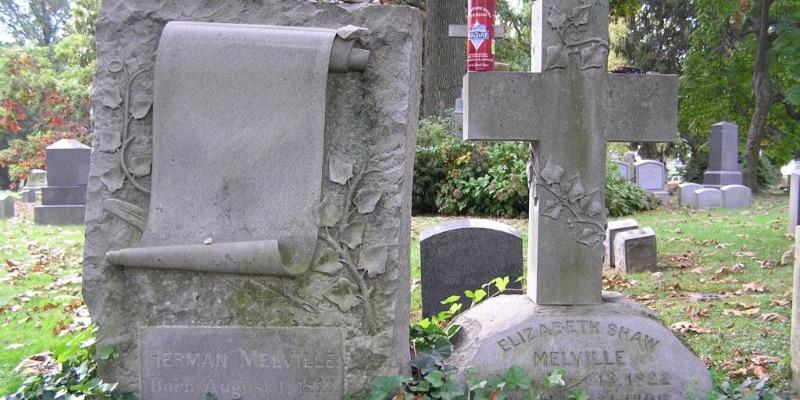 Grave of Herman Melville