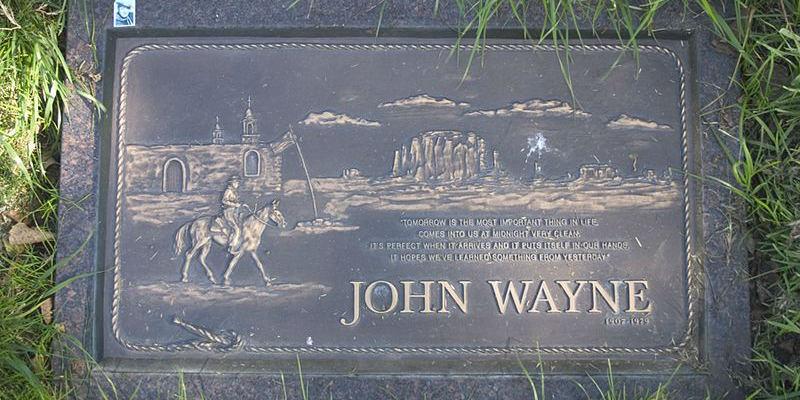 Grave of John Wayne