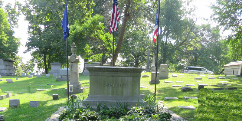 famous graves wright brothers