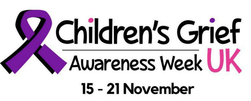 childrens grief awareness week logo