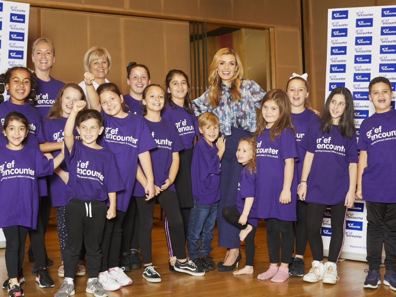 katherine jenkins and the grief encounter children's choir