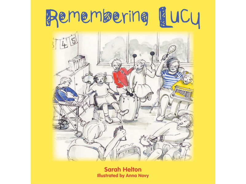 book cover, Remembering Lucy