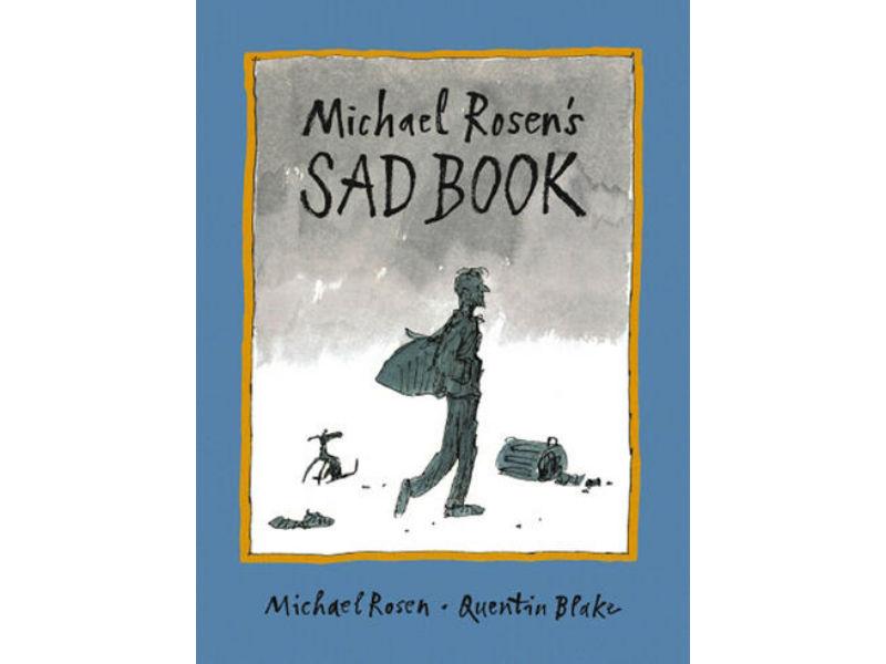 book cover, Sad Book