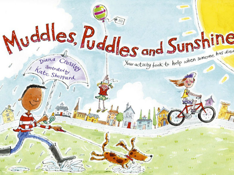 book cover, Muddle, Puddles & Sunshine