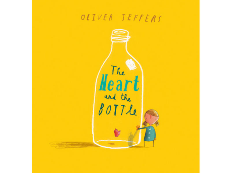 book cover, The Heart & the Bottle