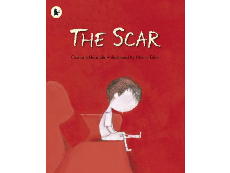 book cover, The Scar