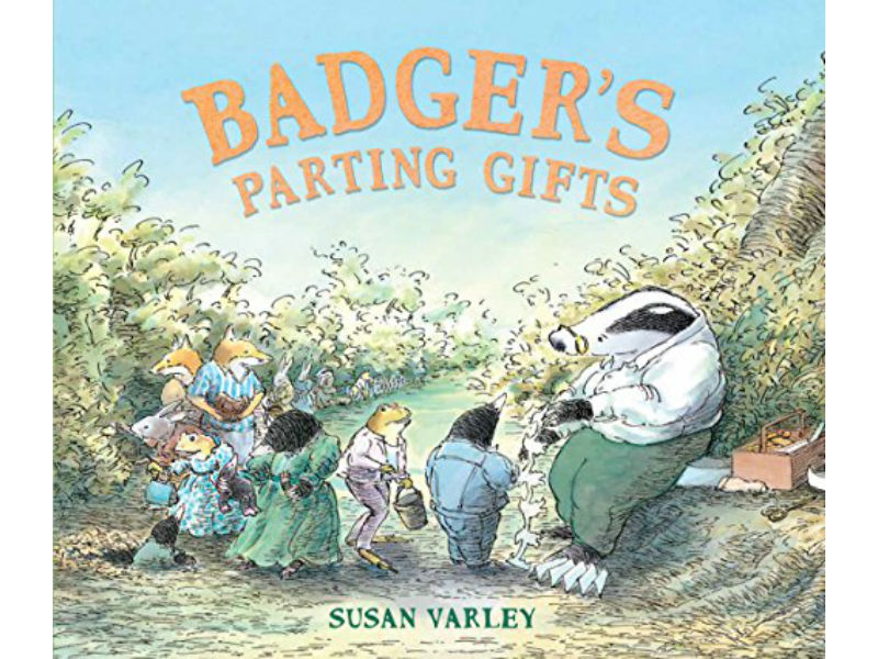 book cover, Badger's Parting Gifts