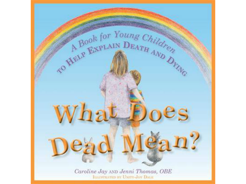 book cover, What Does Dead Mean?