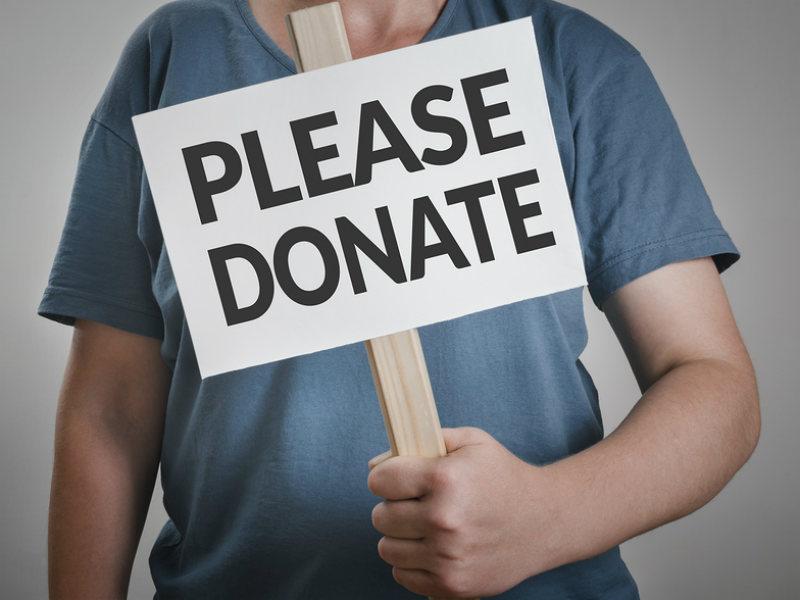 Please donate via Bigstock