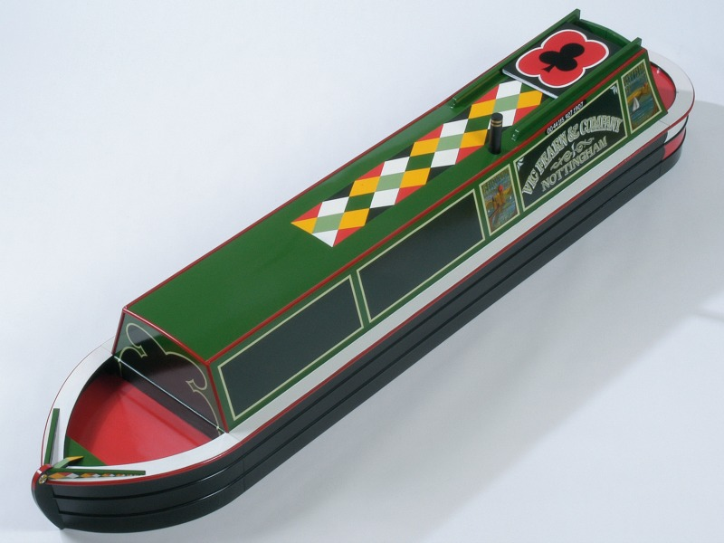 Crazy Coffins narrow boat