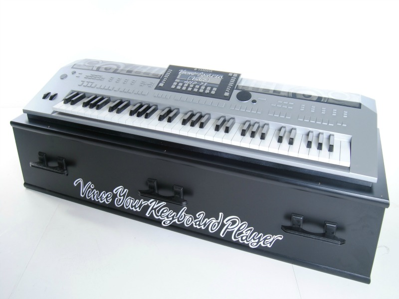 Crazy Coffins keyboard
