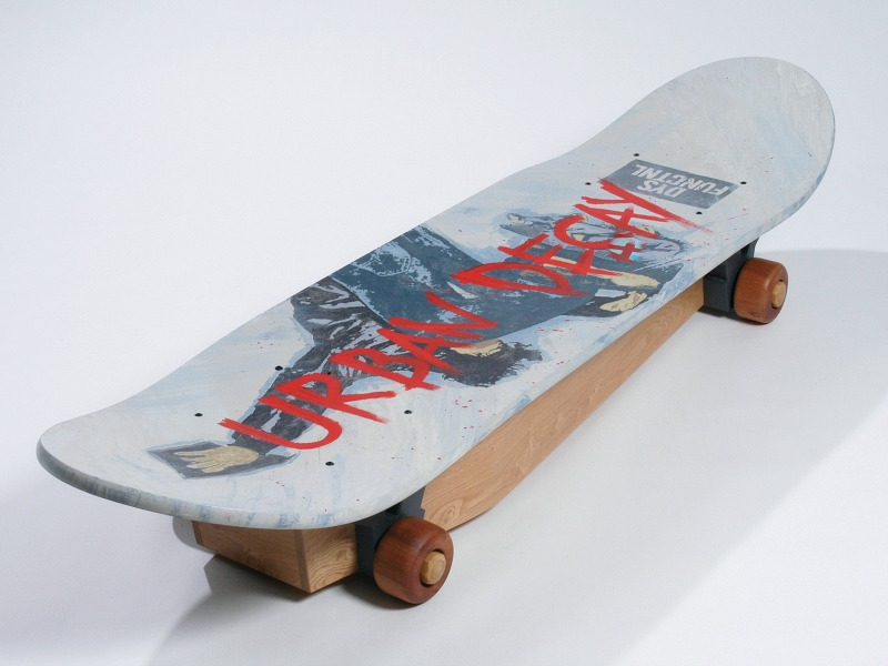 Crazy Coffins skateboard