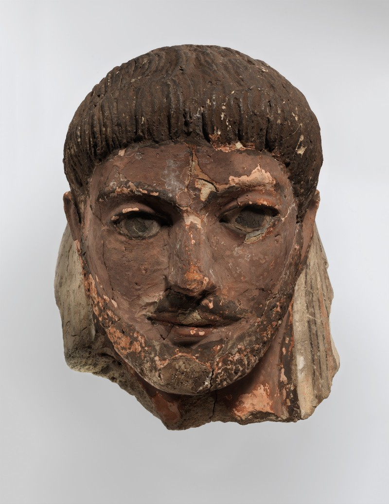 Photo of Roman funerary mask