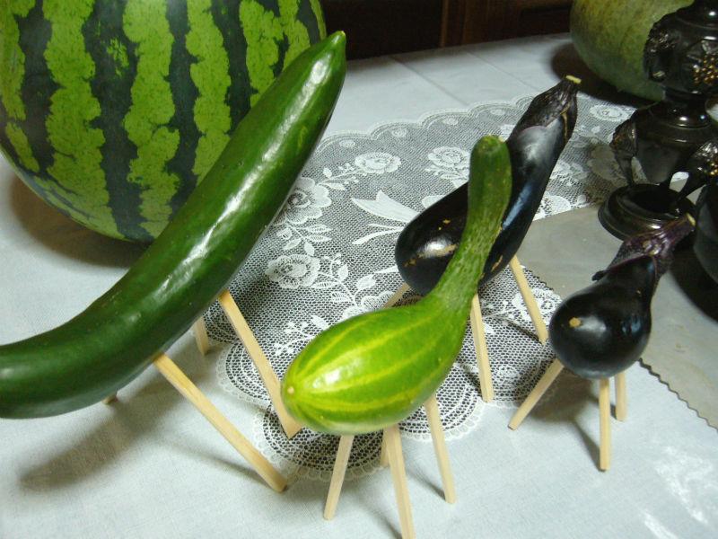 Japanese vegetables for obon