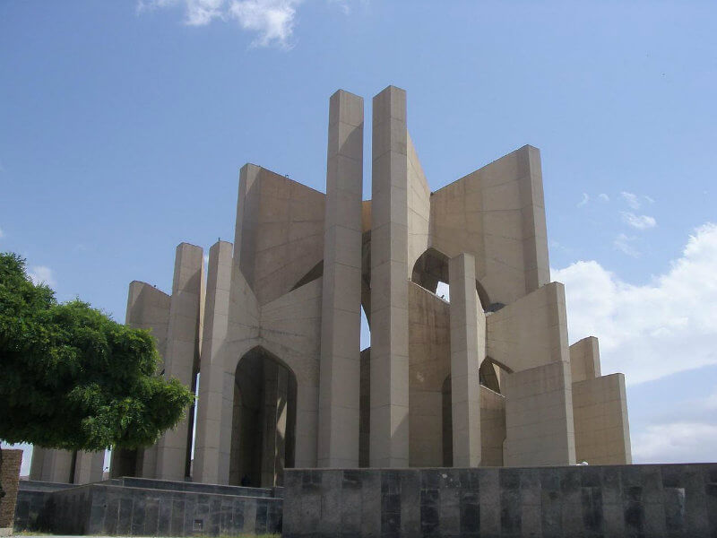 Maqbarat-o-shoara monument to Persian poets