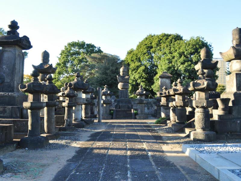 Yanaka Japanese cemetery