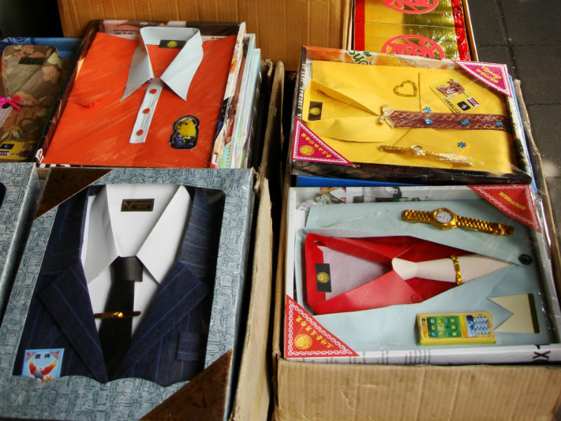 Joss paper in the shape of suits and shirts