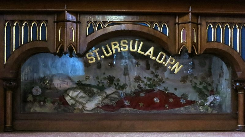 Reliquary of St Ursula