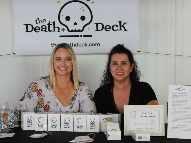 The Death Deck Creators Lisa Pahl and Lori LoCicero
