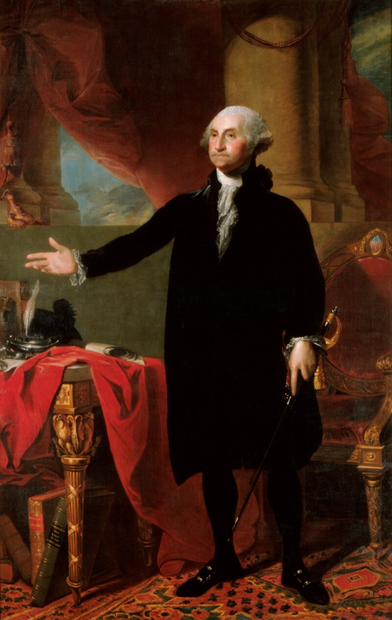 Portrait of George Washington as President of the United States