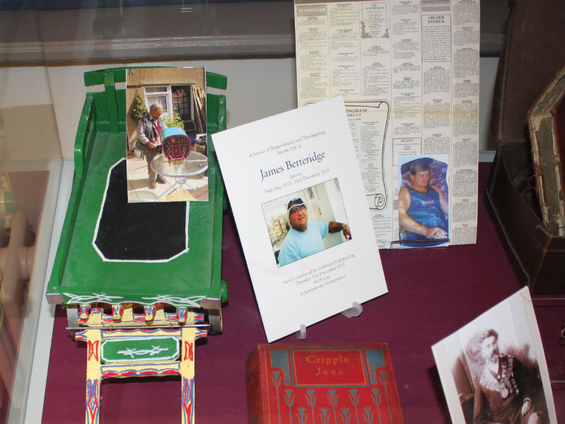 Personal mementos loaned to The Remembrance exhibition at Abbey House Museum, Leeds