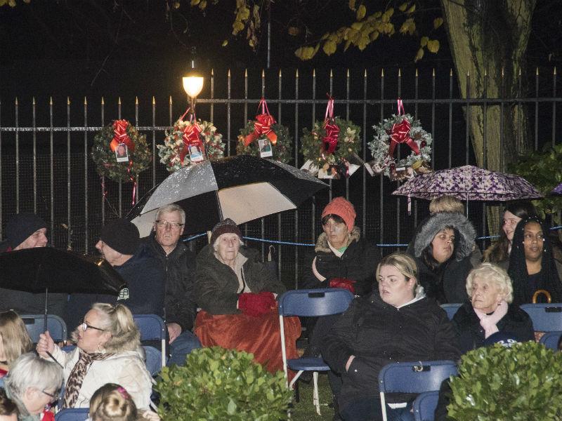 albins memorial garden christmas service