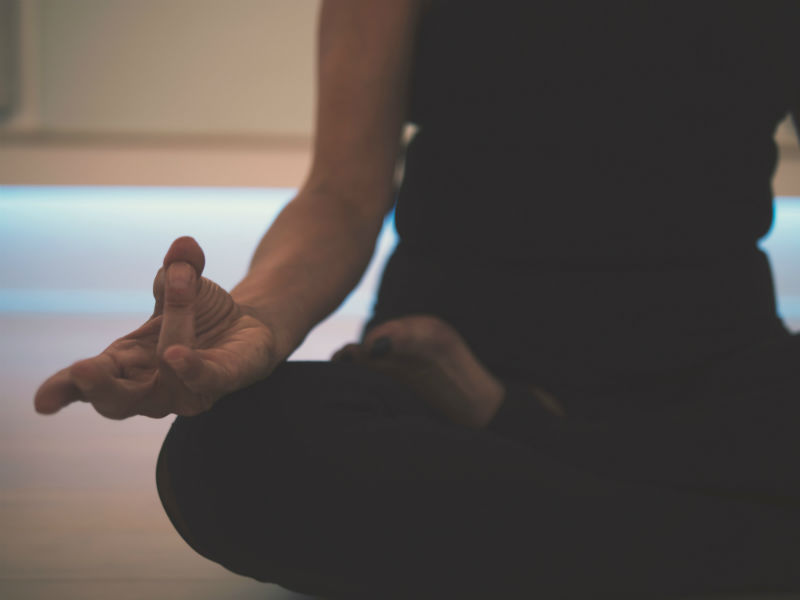 alternative bereavement therapy- grief yoga