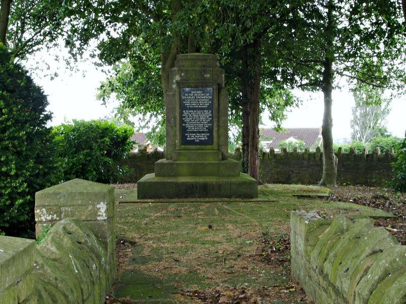 Charles Thompson's grave