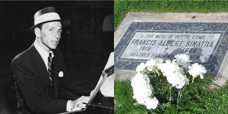 Frank Sinatra's headstone