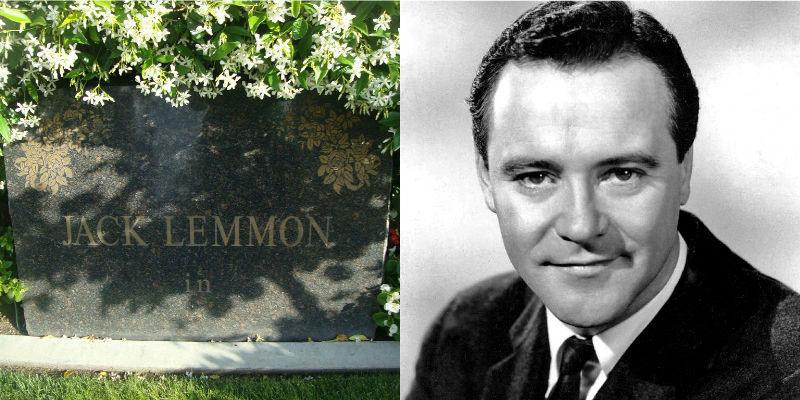 Jack Lemmon's gravestone epitaph