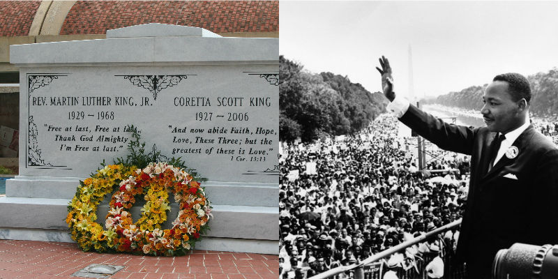 Martin Luther King Jr.'s tomb in Atlanta