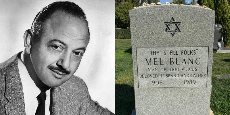 Mel Blanc's headstone