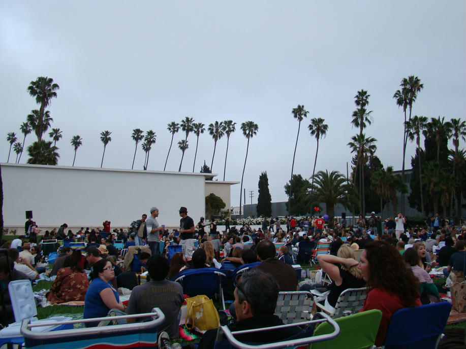 A Hollywood Forever movies night at the Hollywood Forever cemetery