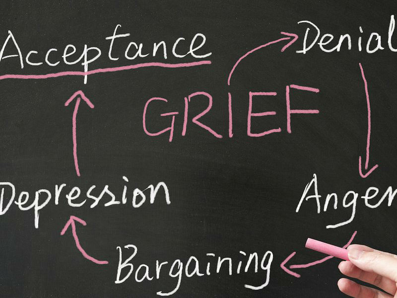 five stages of grief model