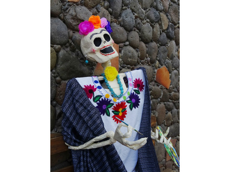 day of the dead la catrina