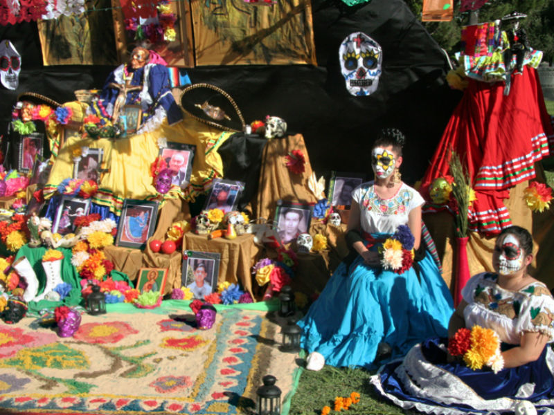 Day of the Dead at the Hollywood Forever cemetery