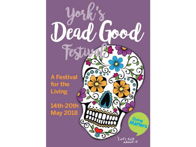 York Dead good festival poster