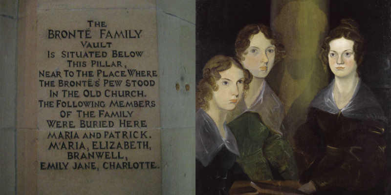 The Bronte family vault