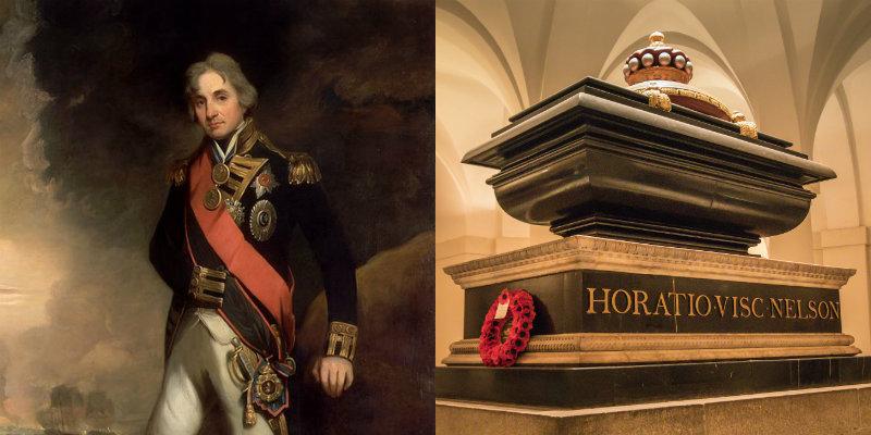 Nelson's sarcophagus