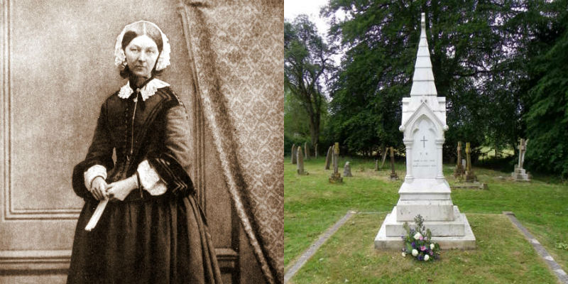 Florence Nightingale's grave
