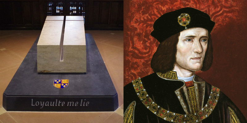 Richard III's tomb