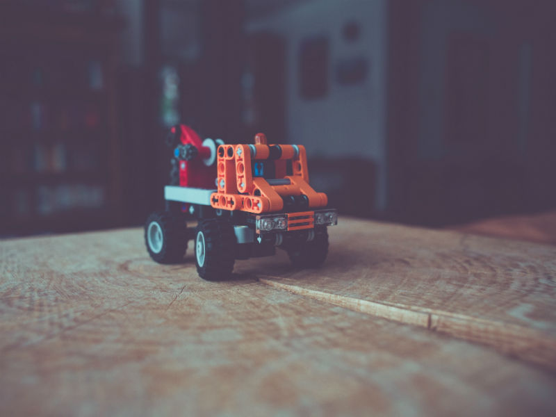 Bereaved dads Father's Day- toy truck