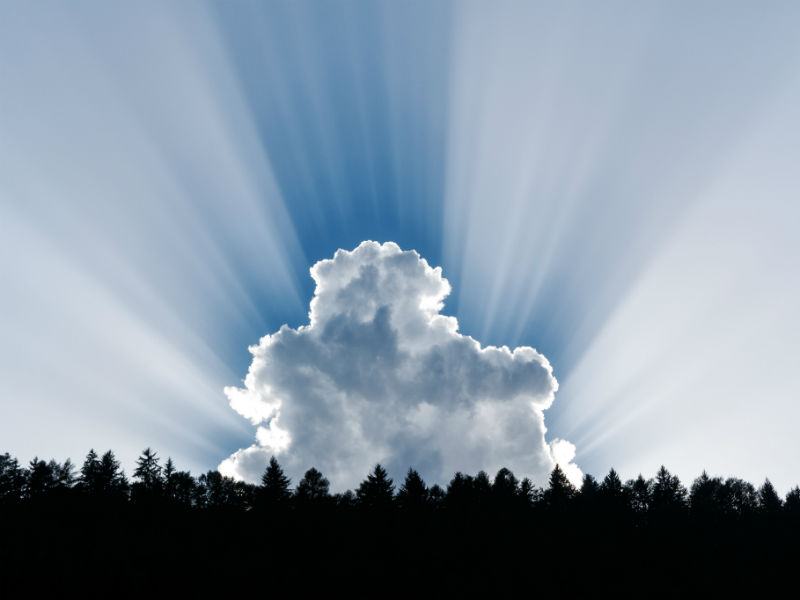 Bereaved dads Father's Day-clouds