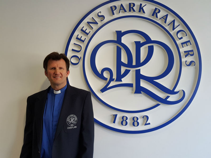 football funerals - QPR chaplain Cameron Collington